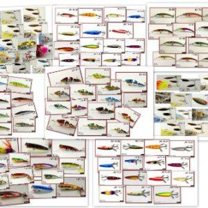 c966bac7fab ... Akuna Bulk Pack 100+ fishing lures crankbaits spoons and spinnerbaits  holiday gift pack